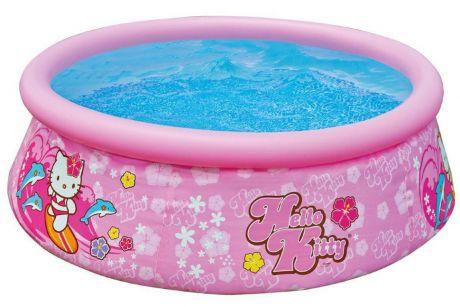 """Детский надувной бассейн INTEX 28104 EASY SET """"HELLO KITTY"""" (180х50см)"""