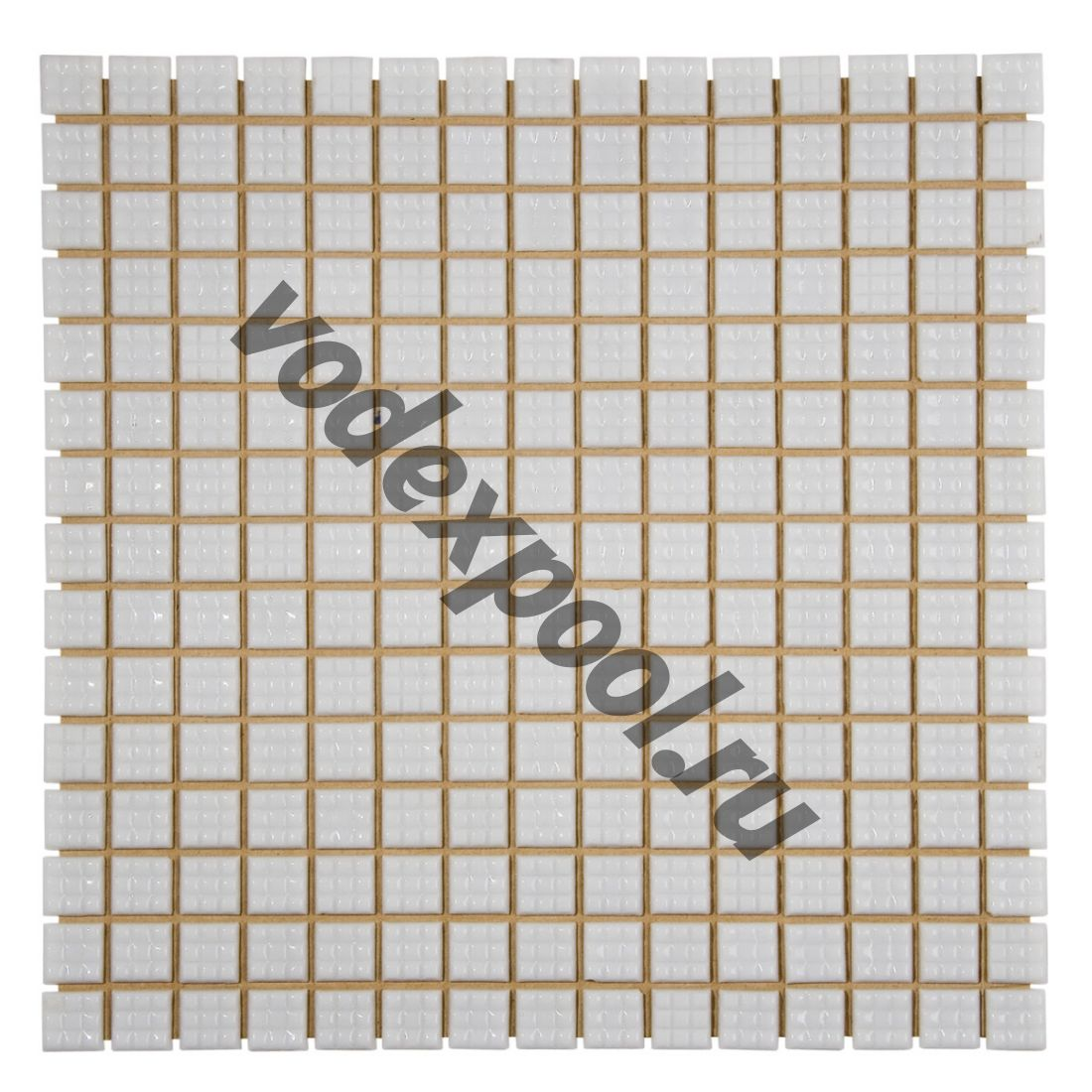 Мозаика стеклянная Aquaviva белая А20N(1)