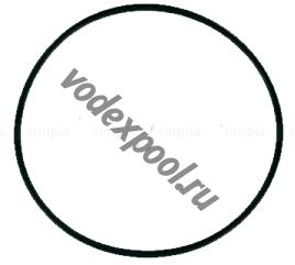 Прокладка-кольцо крышки префильтра насоса KS Kripsol RKS 030.A