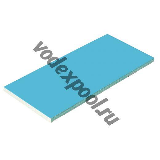 Плитка керамическая голубая AquaViva 240х115х9мм