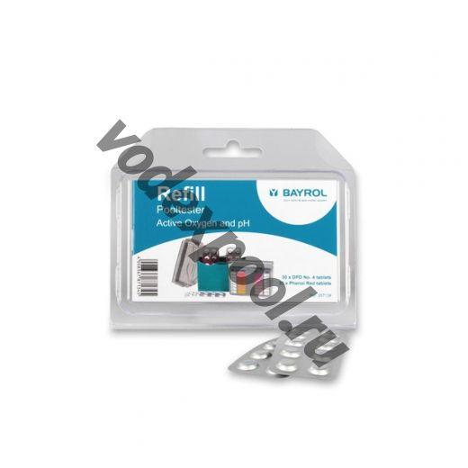 Таблетки Refill для тестера pH/Bayroklar (60 шт)