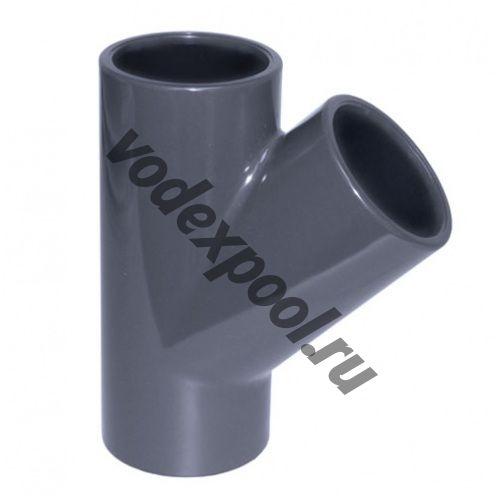 Тройник 45 градусов Coraplax (д. 75 мм)