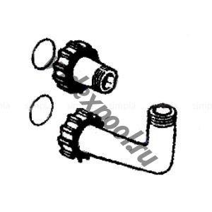 """Комплект соединений 6-ти поз. вентиля (1 1/2"""") с фильтром IBIZA IL, Toledo ТL Kripsol R060 EC.A/RFD0130.00R"""