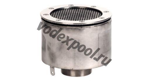 "Водозабор с сетчатой крышкой XenoZone д.165x100 2,5""(наруж.) плитка"