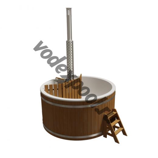 Купель круглая Aquaviva Премиум KFP220 с печью
