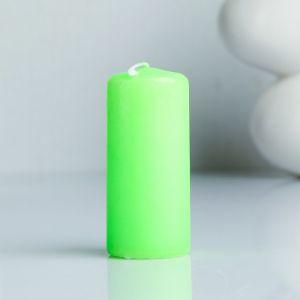 Свеча пеньковая ароматическая «Яблоко», 4 х 9 см