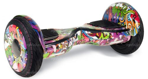 """Гироскутер Smart Balance Wheel Suv New 10.5"""" Хип Хоп фиолетовый"""
