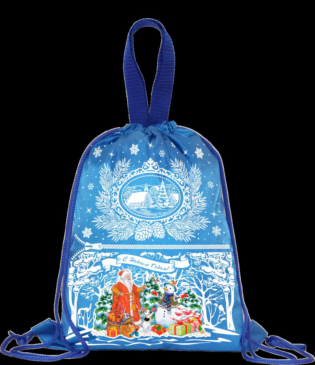"""Рюкзак """"Подарки детям"""" (синий) 1500 грамм"""