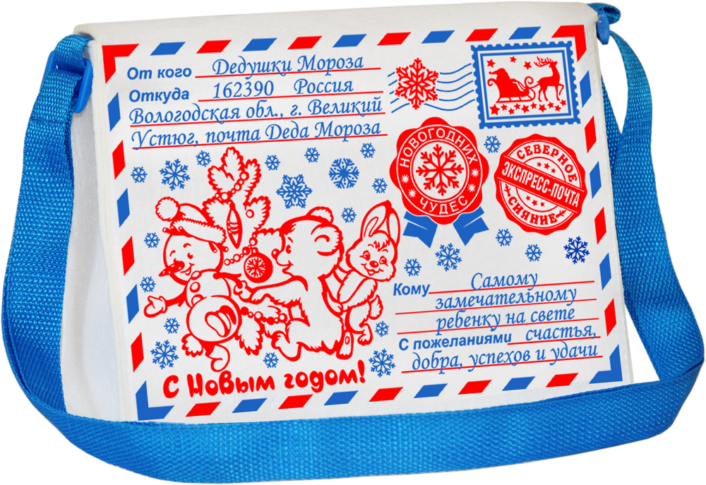 Сумка-посылка из Устюга 900 грамм (ФЕТР)