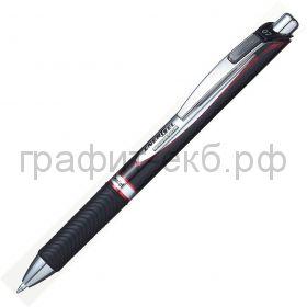 Ручка гелевая Pentel ENERGEL Permanenet BLP77 красный 0,7мм