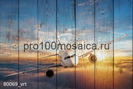 80069 Картина на досках серия АВИАЦИЯ