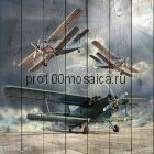 80060 Картина на досках серия АВИАЦИЯ