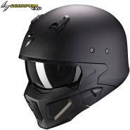 Шлем Scorpion Covert-X Solid, Черный матовый
