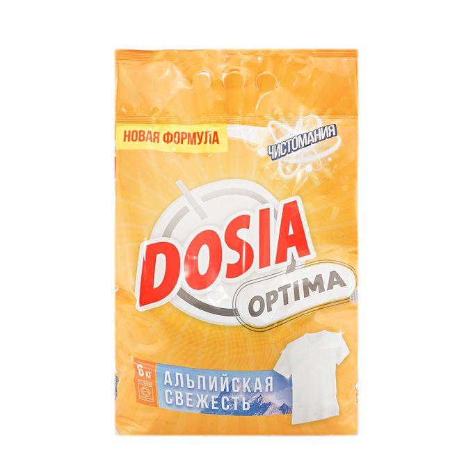 Стиральный порошок Dosia Optima Альпийская Свежесть 6 кг