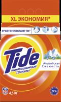 Стиральный порошок Tide Альпийская свежесть автомат для белого белья 4,5 кг