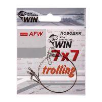 Поводок Win 7х7 (AFW) Trolling 28 кг 100 см