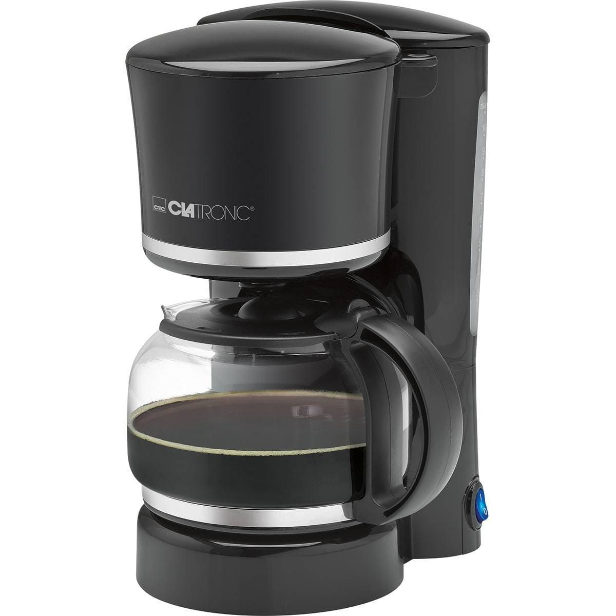 Кофеварка Clatronic KA 3555 schwarz-silber