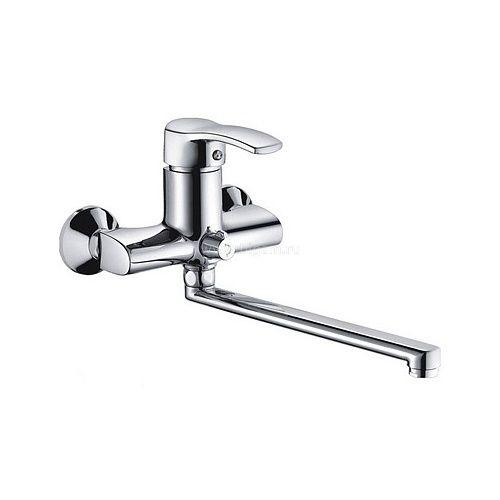 Смес ванна 40мм FRAP 2270 дивертор в корп. пл нос 300 мм