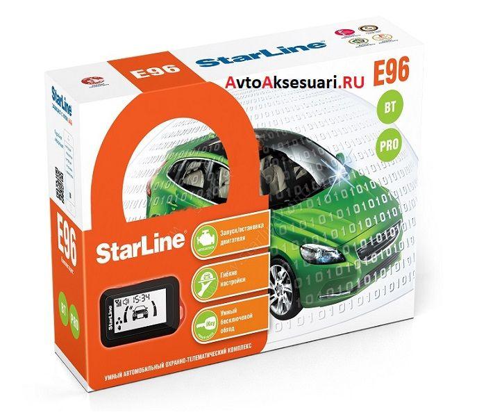 Автосигнализация StarLine E96 BT PRO