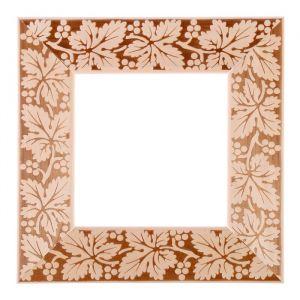 Рама для зеркал и картин дерево 15 х 15 х 5.0 см, липа, «Виноградная лоза»