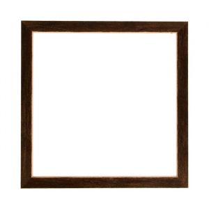 Рама для зеркал и картин дерево 35 х 35 х 3.0 см, липа, венге