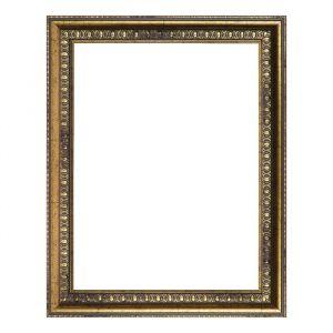 Рама для зеркал и картин, пластиковая, 30 х 40, ширина 2,3 см, Charlotta, антик