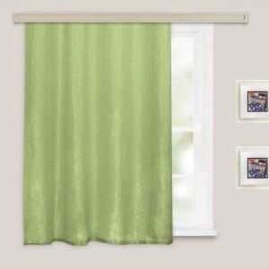 Штора портьернаядля кухни «Тергалет», размер 135х180 см, цвет зелёный