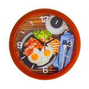 """Часы настенные, серия: Кухня, """"Прованский завтрак"""", 28х28 см 2436418"""