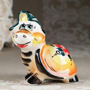 Сувенир «Черепашка веселая» 8 см , микс, цветной 4834929