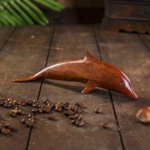 """Сувенир дерево """"Дельфин"""" 20х5х6 см   4165675"""