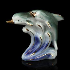 """Сувенир """"Два дельфина на волне"""""""
