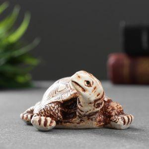 """Фигура """"Черепаха с повернутой головой"""" 3,5х7х5,,9 см 1414617   4783483"""