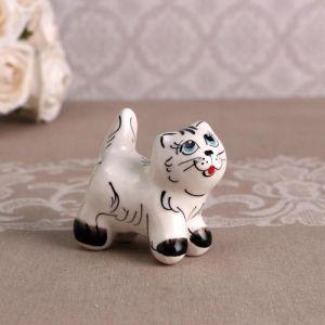 Сувенир  «Котик Васька», белый 4875509