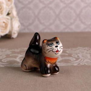 Сувенир  «Котик Васька», черный 4875506