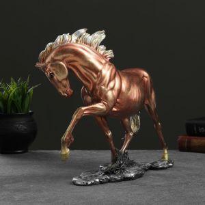 """Фигура """"Конь гарцующий"""" бронза,  35х27см   4763773"""