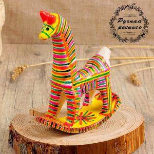 Филимоновская игрушка «Конь-качалка» 3579647