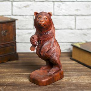 """Сувенир дерево """"Медведь"""" 25 см   4012688"""