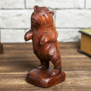 """Сувенир дерево """"Мощный медведь"""" 20 см   4012689"""
