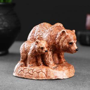 """Фигура """"Медведь с медвеженком"""" 7х8х7см 4877895"""