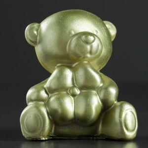 "Фигура ""Мишулька"" золото 7,5х7х5,5 см   4417045"