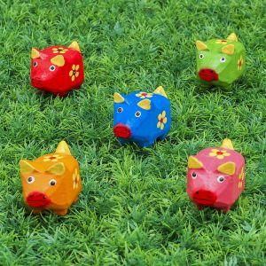 """Набор сувенирный """"Свинки с цветочком"""" 23х6х5 см МИКС  3370330"""