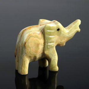 Сувенир «Слон», 10 см, оникс 1590334