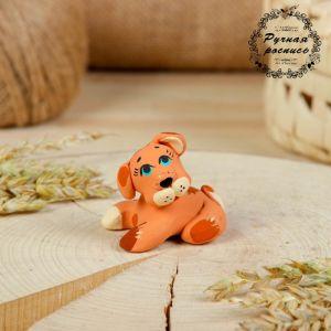 Сувенир ковровская глиняная игрушка «Собачка»   2719721