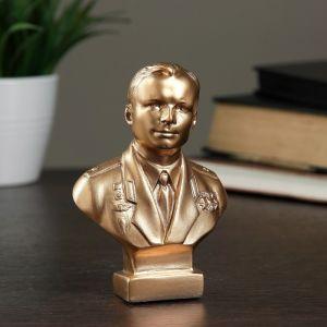 Бюст Гагарин бронза,золото 11 см 1079118