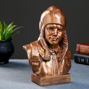 Бюст Гагарин Ю.А., бронза 25х17см   4559338