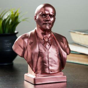 Бюст Ленин большой медь 18 см 1117932