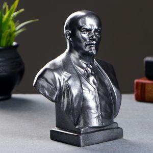 Бюст Ленин большой металлик 19 см 1380812