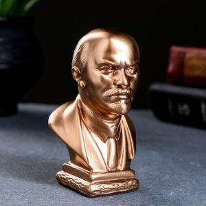 Бюст Ленин средн. бронза 10 см 1079128