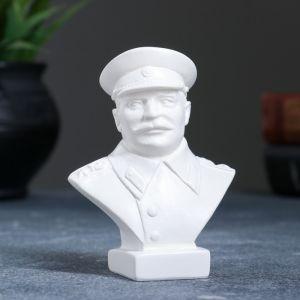 Бюст Сталин малый белый 10 см 1079142