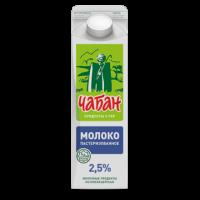 """Молоко """"Чабан"""" 2,5% , 0,9л, п/уп"""